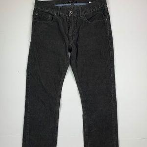 Banana Republic Pants Gray Corduroy Men Sz 32 x 32